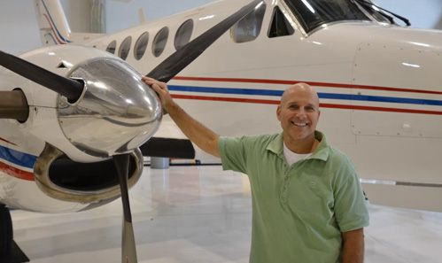 RSL Aviation Chief of Maintenance Dave Krausnick