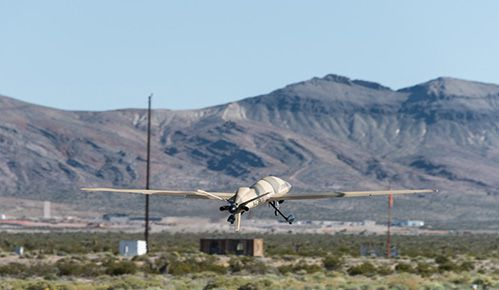 Two Unmanned Aerial Systems