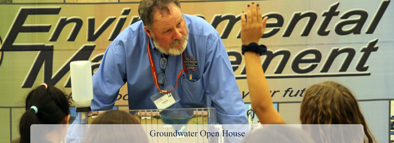 Groundwater Open House banner