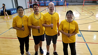 corporate challenge badminton
