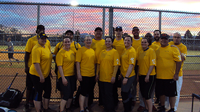 corporate challenge softball