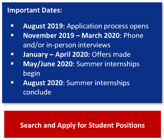 important dates search and apply